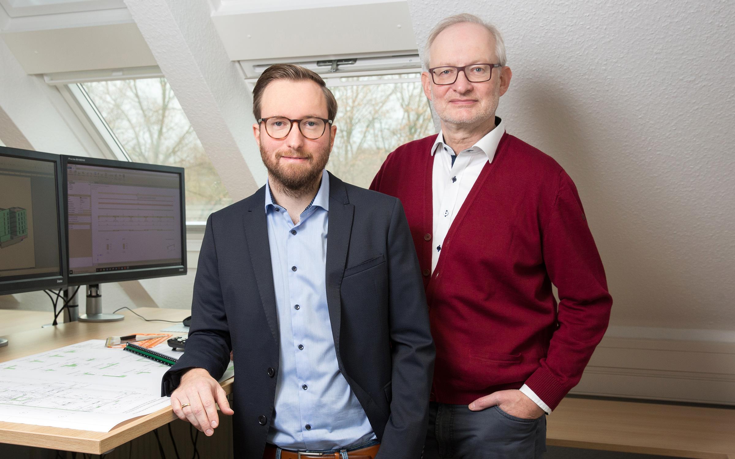 Firmenleitung Steffen Wehlmann/Thomas Wehlmann